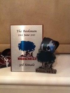Boskman trophy