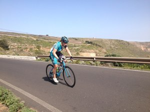 "Me ""enjoying"" the Tabayesco TT on the final day of camp. Big thanks to David for the photo, check out his website at http://www.do3coaching.com/"